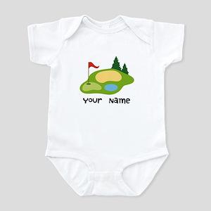 Personalized Golfing Infant Bodysuit
