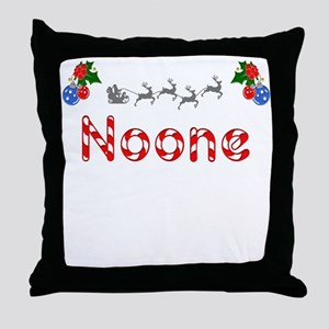Noone, Christmas Throw Pillow