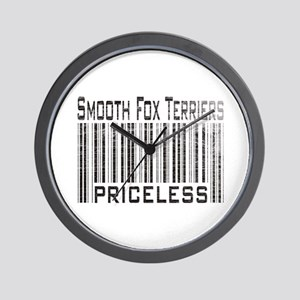 Smooth Fox Terriers Wall Clock