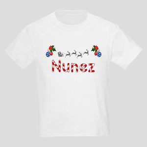 Nunez, Christmas Kids Light T-Shirt