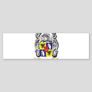 Corpus Family Crest - Corpus Coat o Bumper Sticker