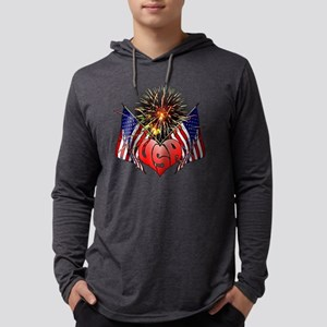 Celebrate America 3 Mens Hooded Shirt