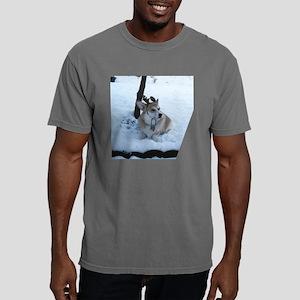 Button Corgi 4 Mens Comfort Colors Shirt