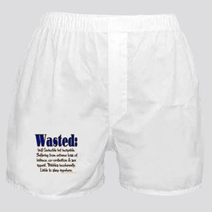 Wasted Boxer Shorts