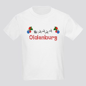 Oldenburg, Christmas Kids Light T-Shirt