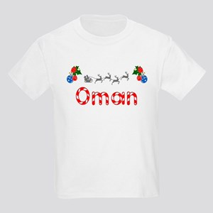 Oman, Christmas Kids Light T-Shirt