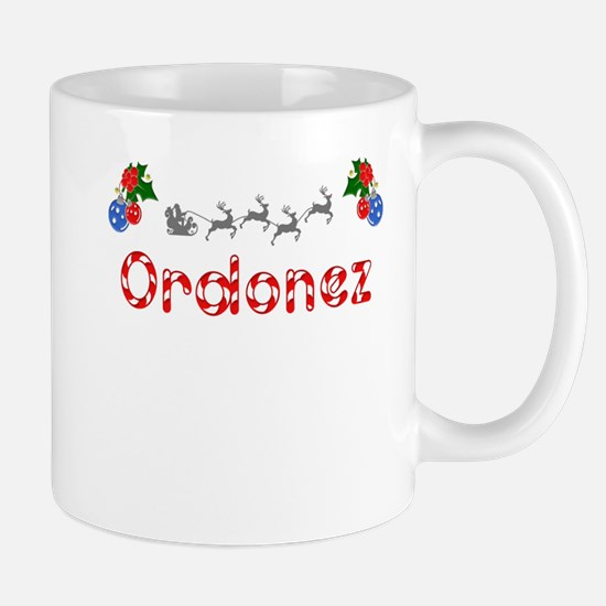 Ordonez, Christmas Mug