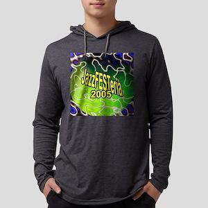 clockface Mens Hooded Shirt