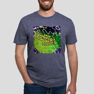 clockface Mens Tri-blend T-Shirt