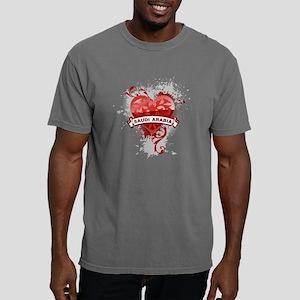 heartSaudi2 Mens Comfort Colors Shirt