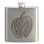 An Apple a Day Flask