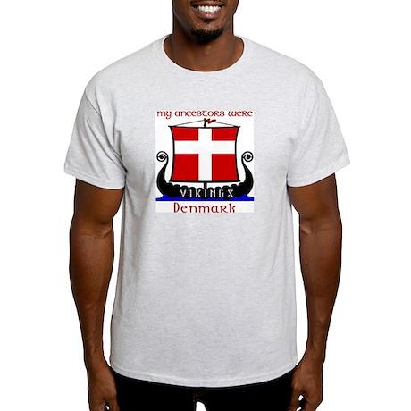 Danish Viking Ancestors T-Shirt (Grey)