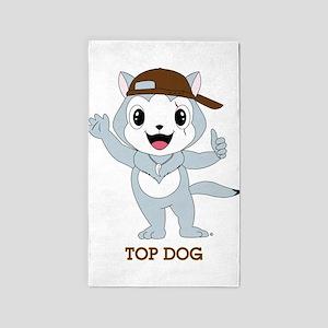 Top Dog™ 3'x5' Area Rug