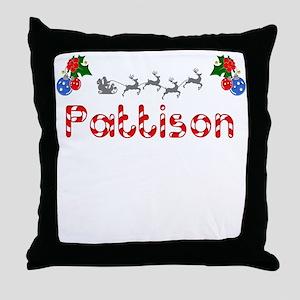Pattison, Christmas Throw Pillow