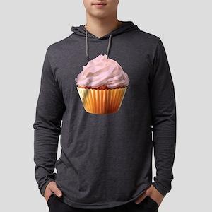 Cream Filled Mens Hooded Shirt