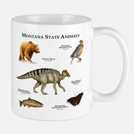 Montana State Animals Mug