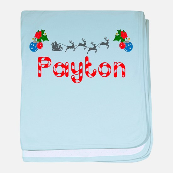 Payton, Christmas baby blanket