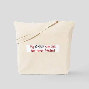 Yorkie HONOR STUDENT Tote Bag