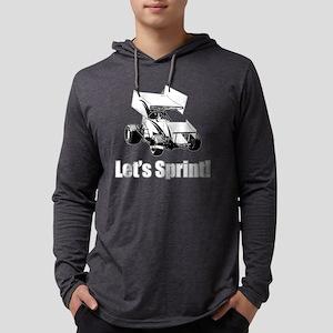 Let'sSprint1 Mens Hooded Shirt