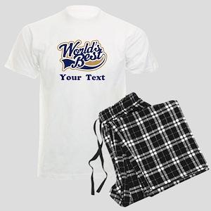 Personalized Worlds Best Men's Light Pajamas