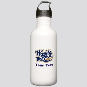 Personalized Worlds Best Stainless Water Bottle 1.