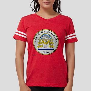 Georgia State Seal Womens Football Shirt