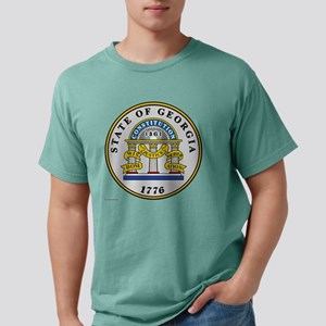 Georgia State Seal Mens Comfort Colors Shirt