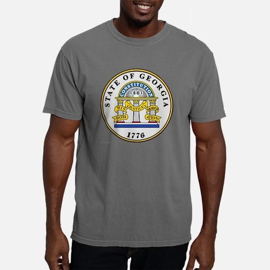 Georgia State Seal Mens Comfort Colors Shirt