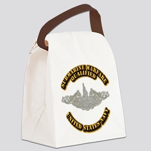 Army - DS - 1st AR Div Canvas Lunch Bag