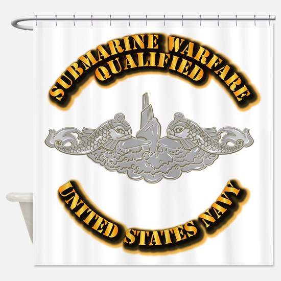 Army - DS - 1st AR Div Shower Curtain