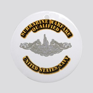 Army - DS - 1st AR Div Ornament (Round)
