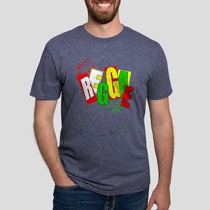 Reggae Mens Tri-blend T-Shirt