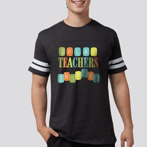 Great Teachers Inspire Mens Football Shirt
