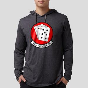 77SQ Mens Hooded Shirt