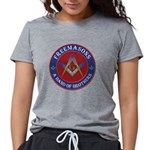 Freemason Brothers Womens Tri-blend T-Shirt