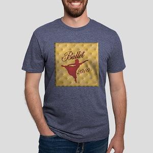 ballet arabesque 2010 Mens Tri-blend T-Shirt