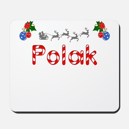 Polak, Christmas Mousepad
