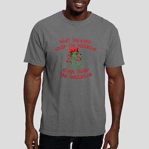 whathappensmistletoe Mens Comfort Colors Shirt