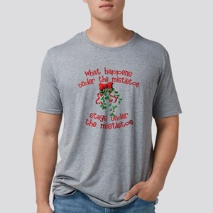 whathappensmistletoe Mens Tri-blend T-Shirt