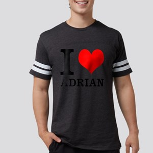 I Heart Adrian Mens Football Shirt