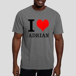 I Heart Adrian Mens Comfort Colors Shirt