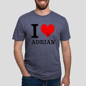 I Heart Adrian Mens Tri-blend T-Shirt