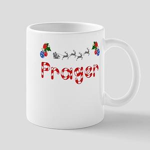Prager, Christmas Mug