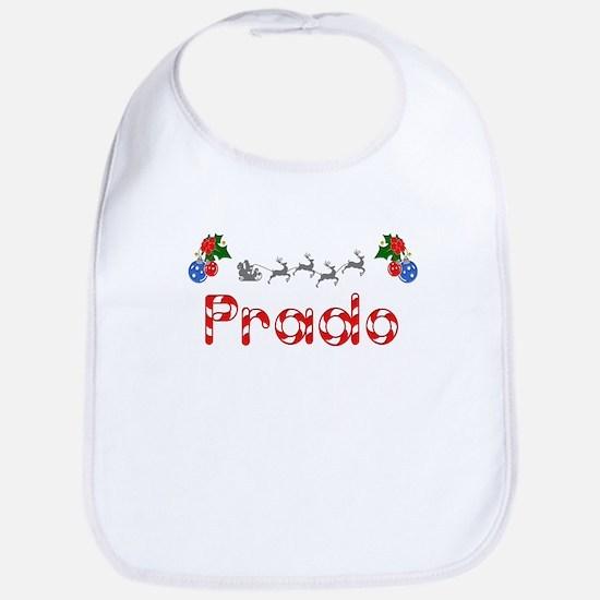 Prado, Christmas Bib