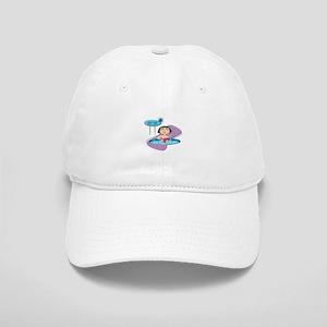 Retro Hot Tub Girl Cap