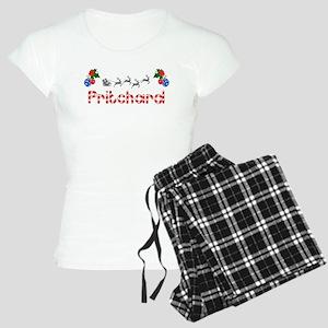 Pritchard, Christmas Women's Light Pajamas