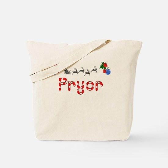 Pryor, Christmas Tote Bag