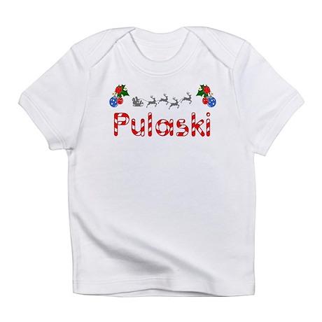 Pulaski, Christmas Infant T-Shirt