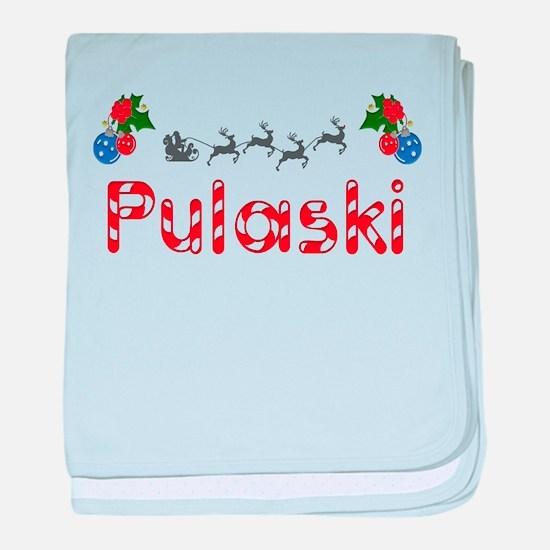 Pulaski, Christmas baby blanket
