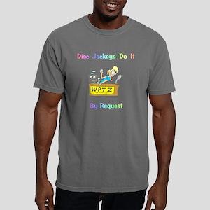 DiscJockeys2BlackTShirtF Mens Comfort Colors Shirt